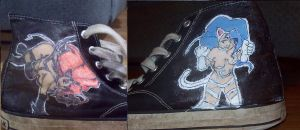 Felicia on my shoes by J05