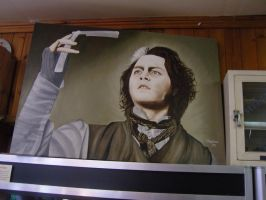 JOHNNY DEPP AS SWEENEY TODD by TonyNapolitano