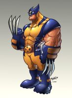 Big Wolverine by RexLokus