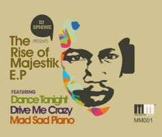 The Rise of Majestik E.P cover by ThaboThabiso