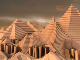 Problematic Pyramids by recycledrelatives