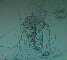 lilly and hades by Wolf-Angel-whitewing