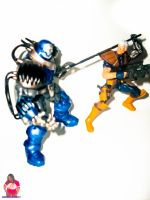 Cable Vs Apocalypse 3 by MsComicStar86