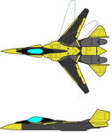 Request Design X-20 Stiletto - ColorScheme by Cursarius