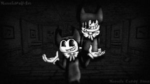 .Bendy and the ink machine. by MarcelaWolfArt