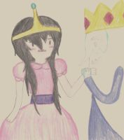 Princess Marceline by dbcupcake