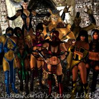 Shao Kahn with Females XD by ShaoKahnsSlaveLilith