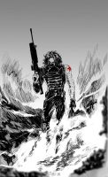 The Winter Soldier by WuLiao-Yuzi
