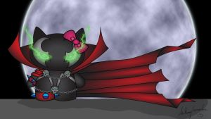 Hello Kitty Spawn by Marty--McFly