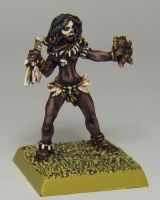 MORDHEIM Chaos Marauder's Shaman by FraterSINISTER
