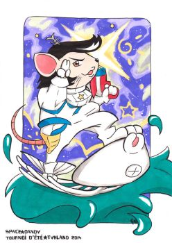 Space Mouse - Space Dandy (SC) by Maiwei