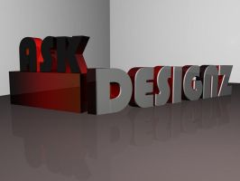 Ask Designs Logo Type WIP by inferno29