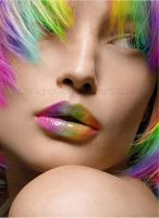 Rainbow Face 2 by ZockRock