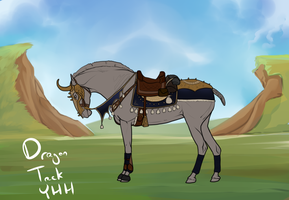 The Hunter- Dragon Tack YHH CLOSED by SpytFyre-Ranch