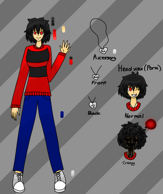 Suicidal Olivia's Ref and Bio *UPDATED* by ArtisticLilBunny