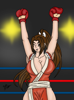 Mai Shiranui winner by brunao2