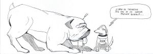 Lockjaw and Cosmo by schris91