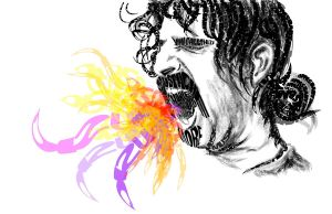 zappa freedom using only type by amaharjan