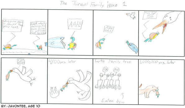 Tureat Family Issue 1 12-6-06 by createacomic