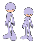 Mobian reference sheet base by Music-Star-Dizzy