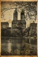 Old Times in Central Park by PortraitOfaLife
