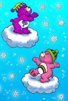 Care Bears Snowy Day by shichan