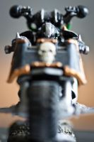Chaos Space Marine Biker by The-Rogue-Wolf