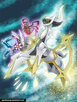 Arceus -Envoy from the beginning