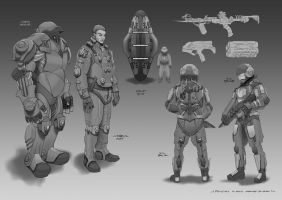 Starship Troopers I by RONIN013