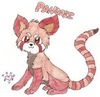 Le red panda by NiehHuskey