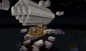 Minecraft Airship by It-Itches