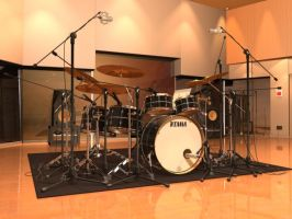 Tama Drums by 6sS-Taicho