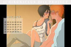 IR Calendar- August 2012 by BlancaVenus