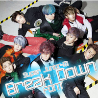 Super Junior M - Break Down Font by JoseCr97