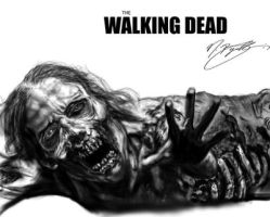 The Walking Dead Female Corpse by JBugallo