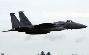 F-15C Flyby by shelbs2