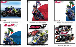 Moto GP'07 Various Cover Icons By RhyZ66 by Rhyz66