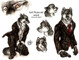 Reference sheet: Wolf by skrawl