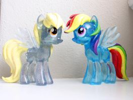 SDCC 2013 Clear Exclusives by PinkiePirates