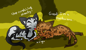 I'm a mentor now? by HaraRester