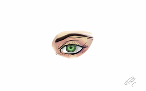 Female Eye Practice by 4and4