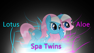 The Spa Twins by Huskyfan