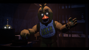 Welcome to the kitchen (fnaf sfm) by JR2417