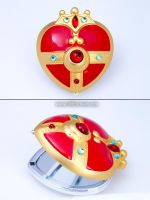 Sailor Moon S Compact Mirror by LilithScream