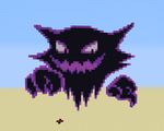 .:Minecraft Haunter Pixel art:. by ShadowBonadow