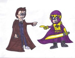 The Doctor meets Bibleman by SonicClone