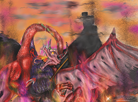 Death of the Colchian Dragon by Jenny42