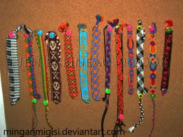 Bracelets - Summer 2008 by MinganMigisi