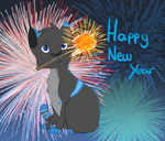 Happy New Year -2015- by IronMeow