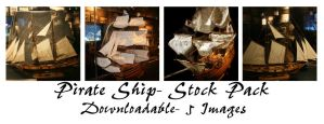 Pirate Ships: DL Stock Pack by Della-Stock